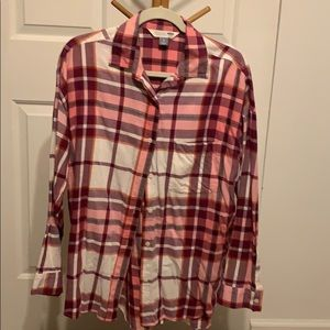 A flannel from old navy